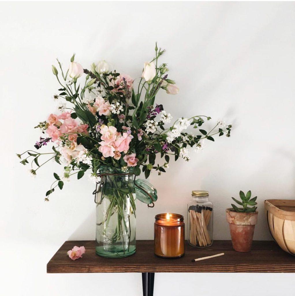 Flores naturales para decorar la casa