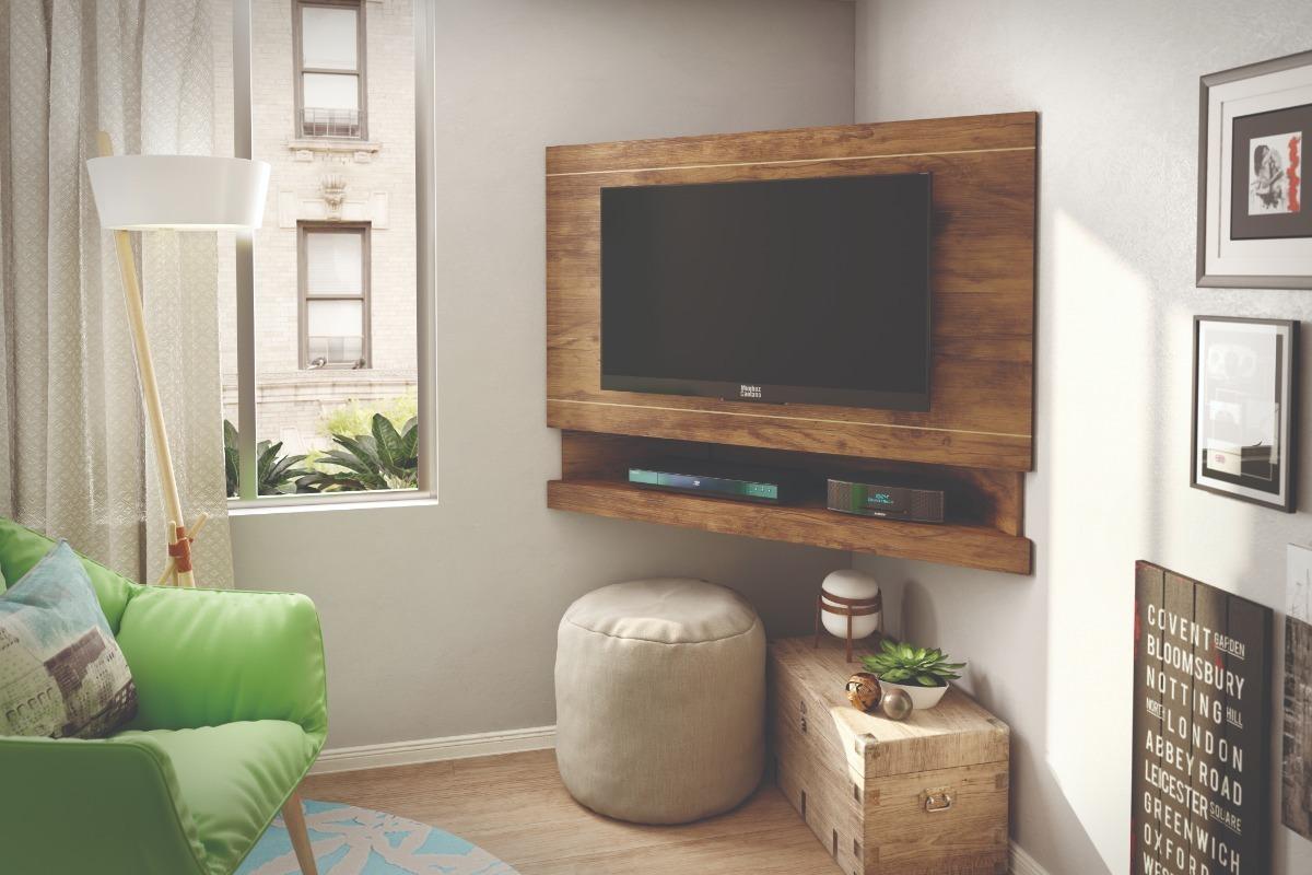 Ideas para instalar la televisión en un rincón