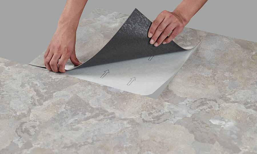 Imitación mármol en paredes