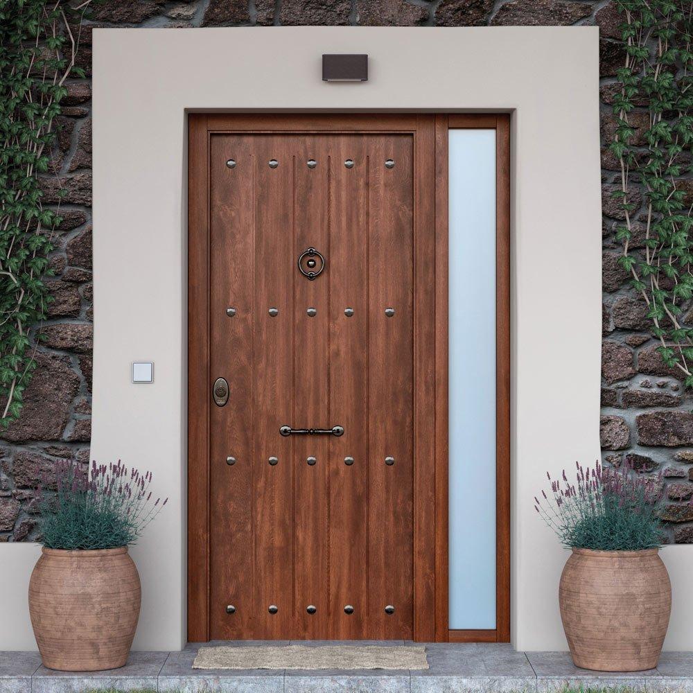 Puertas de ingreso principal acorazadas