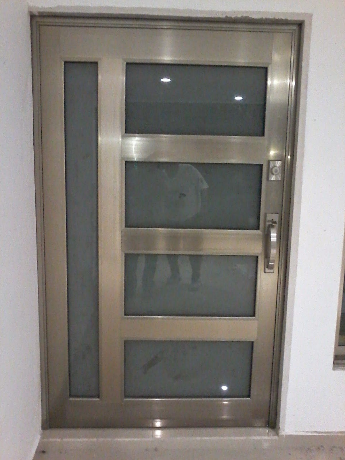 Puertas de ingreso principal metálicas