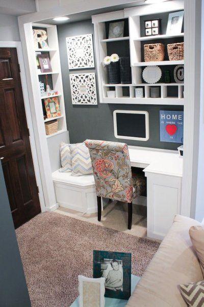 Oficina en casa - Ideas geniales para integrarla en tu espacio