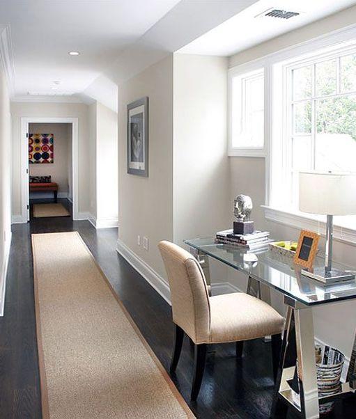 Oficina en casa - en pasillo