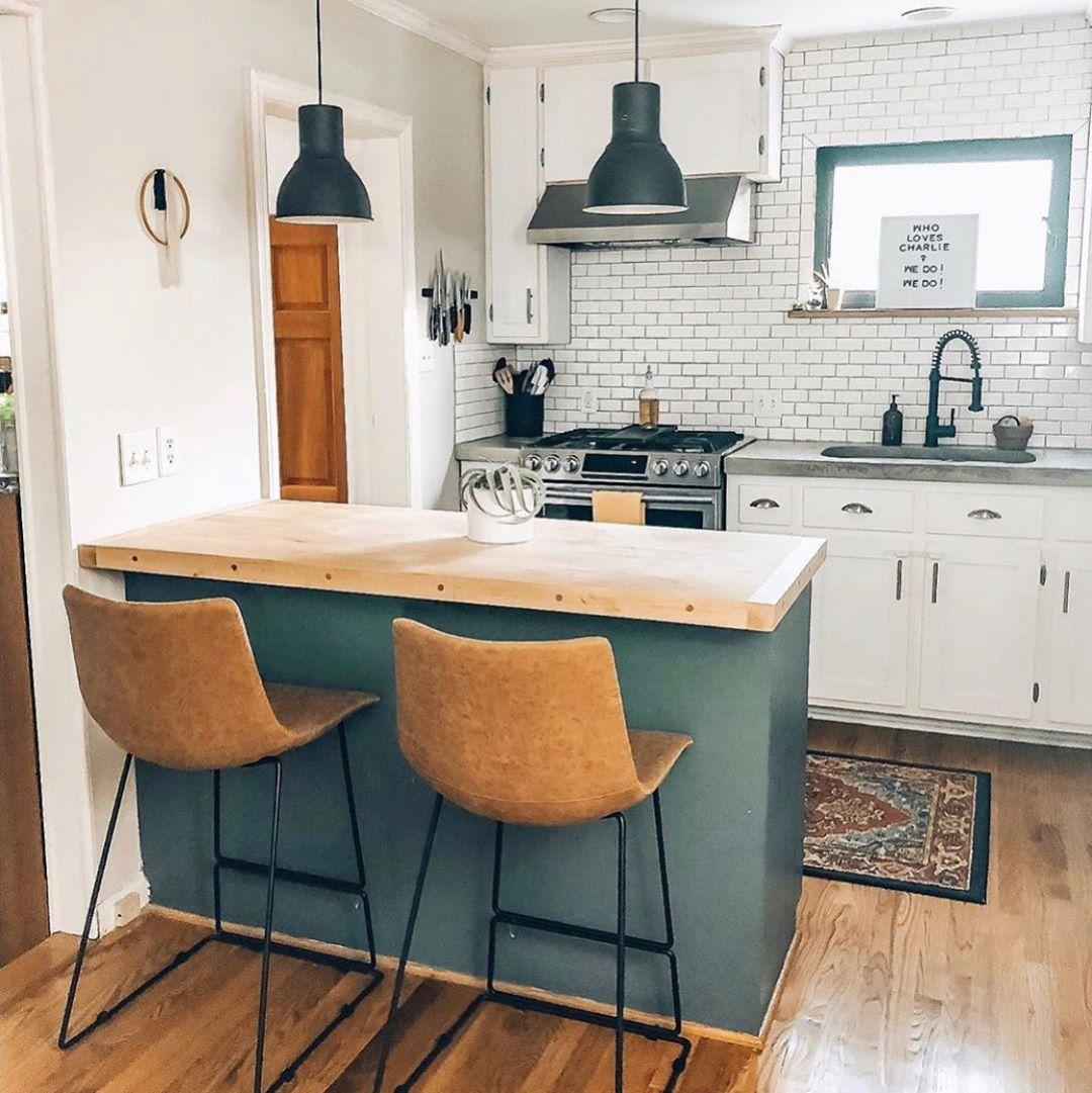 Barras de cocina para separar espacios
