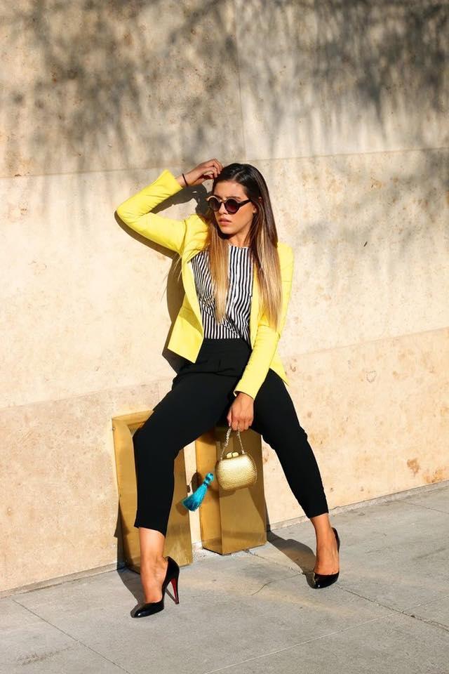 Blusas Amarillas