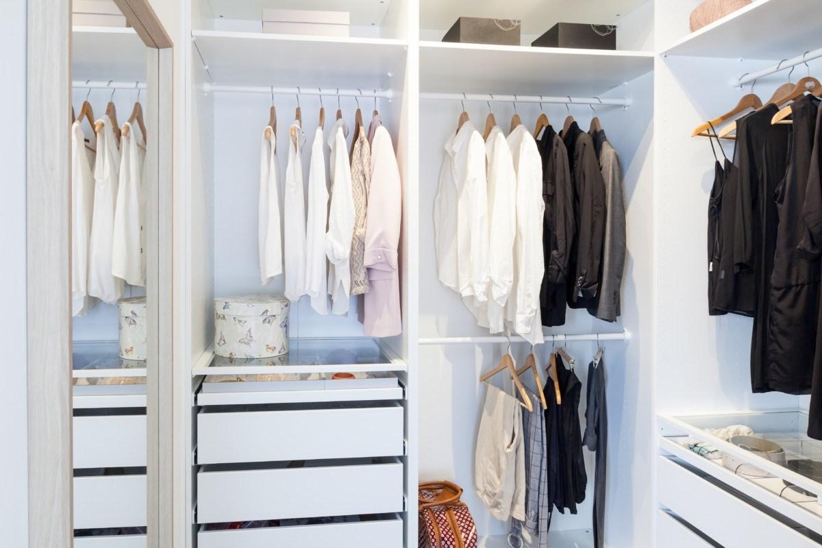 closet apartamento de 40m2 elegante y sofisticado