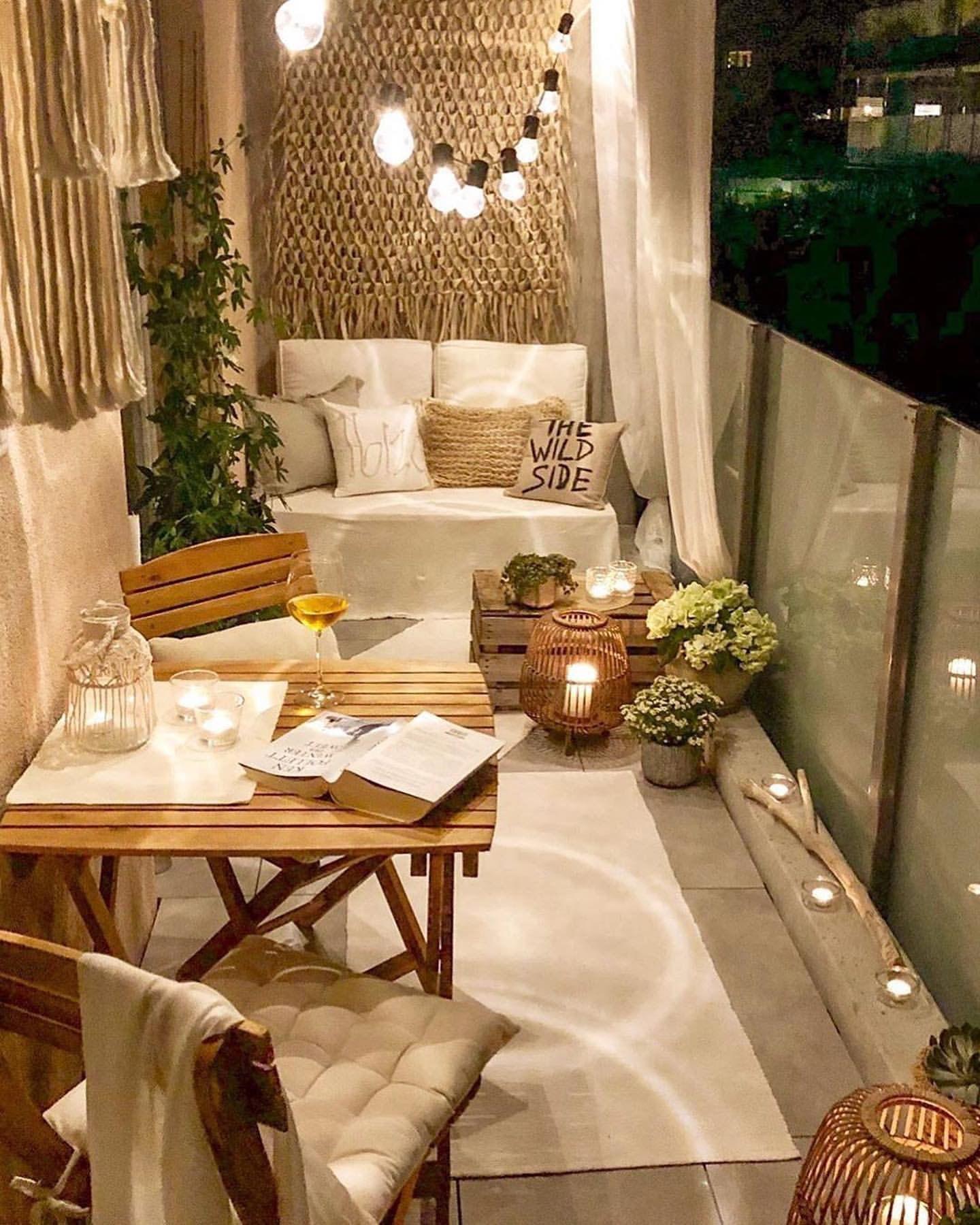 Ideas para decorar el balcón