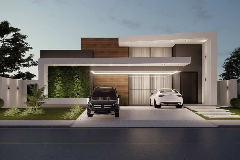Planos de casas para construir en terrenos grandes