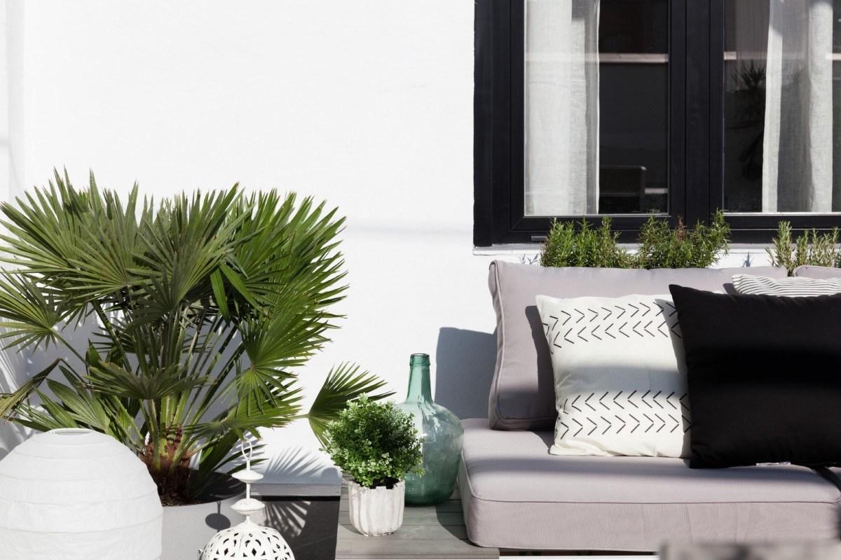 terraza de apartamento de 40m2 elegante y sofisticadoterraza de apartamento de 40m2 elegante y sofisticado