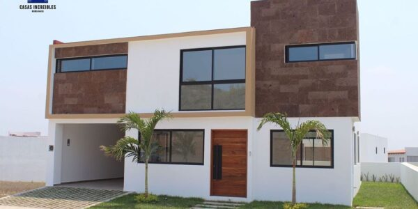 Fachadas de casas de 75 metros cuadrados