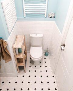 Planos de minidepartamento de 30 metros cuadrados con baño