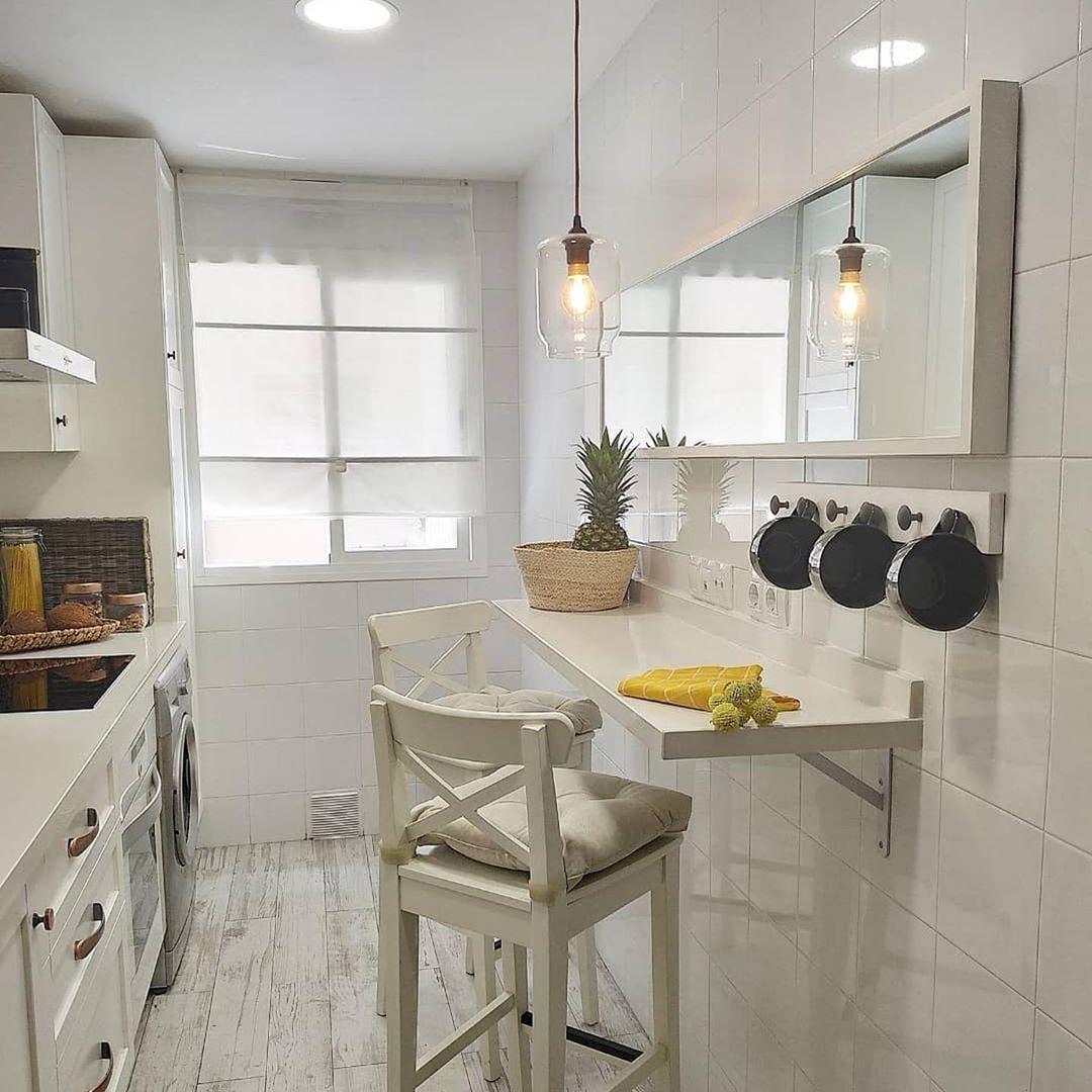 Barra para decoración low cost de cocina