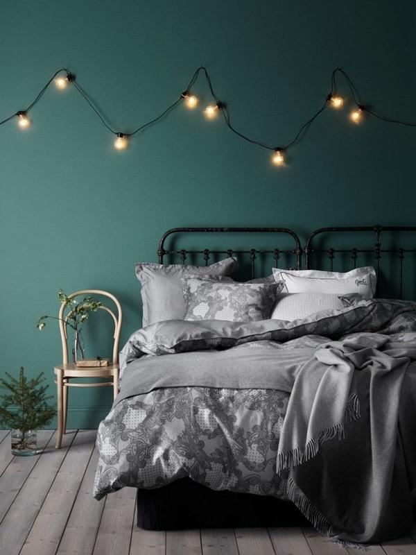Color verde para dormitorio en psicología del color