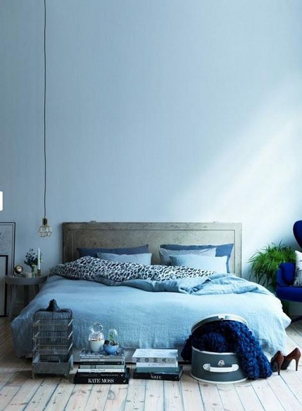 Colores para dormitorios en azul