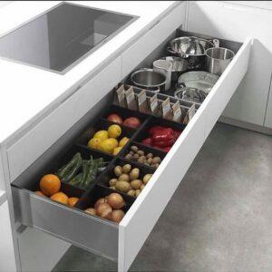 Cómo organizar los gabinetes de tu cocina