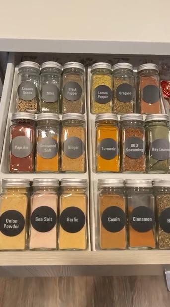 Cómo organizar los gabinetes de tu cocina resultado final