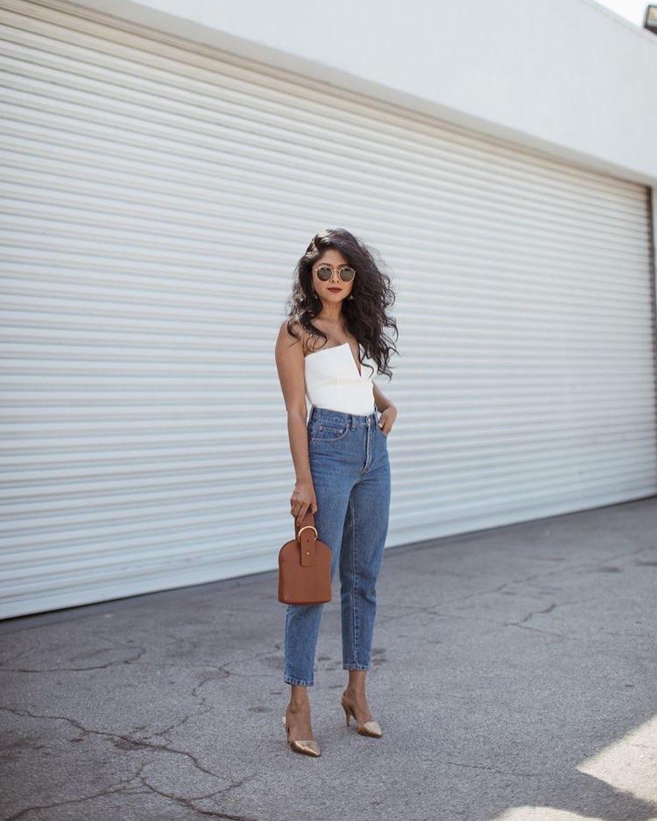 Jeans de corte recto para look casual