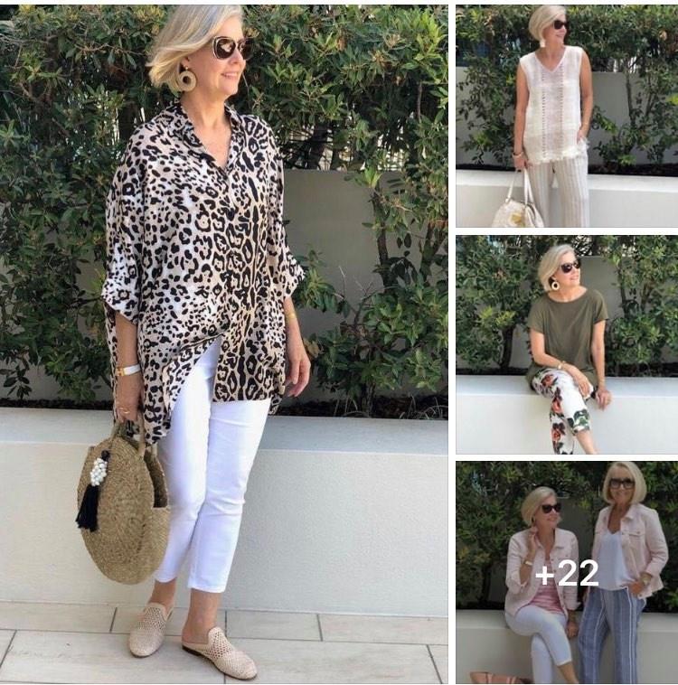 Moda para señoras de 50 años o más