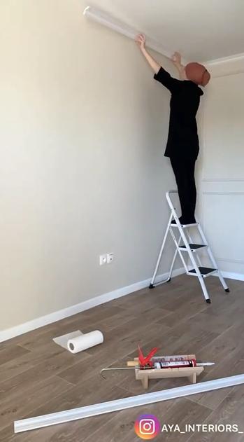 Molduras para la pared de tu habitación