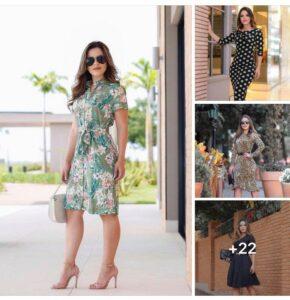 Vestidos discretos y elegantes para mujeres maduras