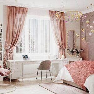 Ideas de decoración con colores rosa y morado