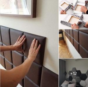 Cabeceras de cama originales y fáciles de hacer