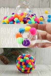 Cómo crear decoración con pompones
