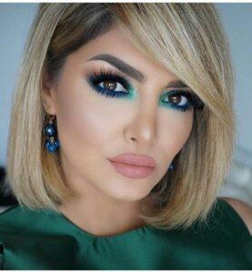 Maquillaje en tonos verdes para la temporada