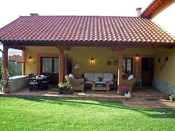 Casas de campo rústicas pequeñas