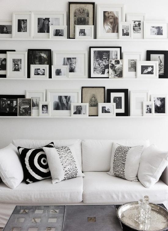 Decora las paredes con cuadros