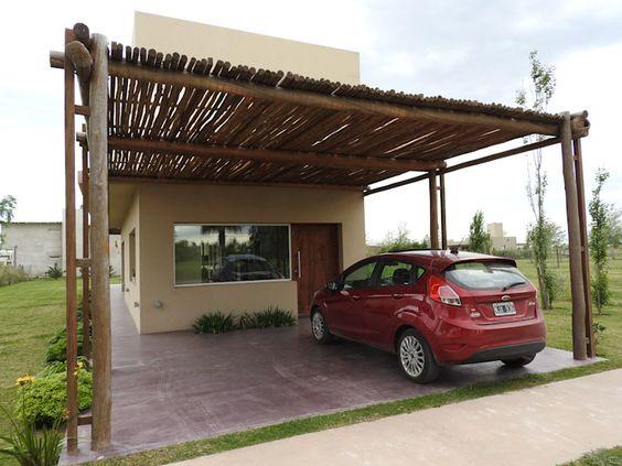 Diseños de casas de campo con porche
