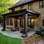 Ideas de casas de campo rústicas de dos pisos