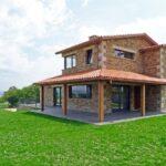 Modelos de casas de campo rústicas de lujo