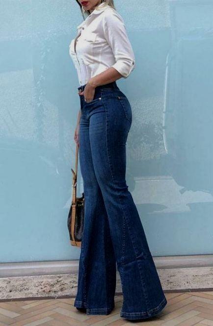Outfits con jeans de moda