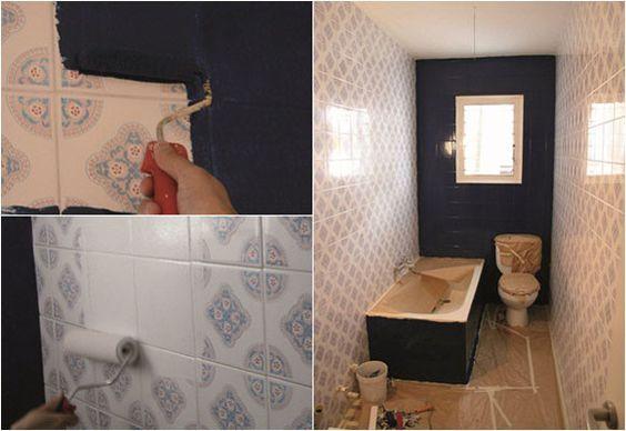 Pintar los azulejos