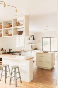 Ideas de islas minimalistas para cocina pequeña