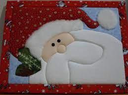 Cómo hacer un cuadro navideño en patchwork sin aguja