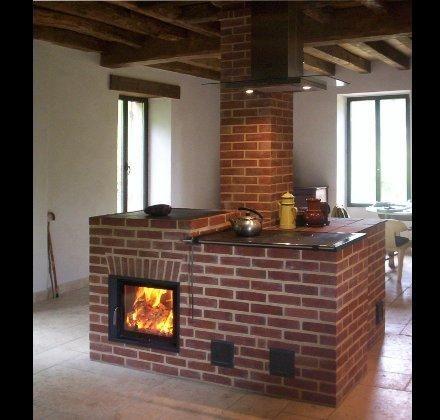 Diseños de cocinas a leña de concreto