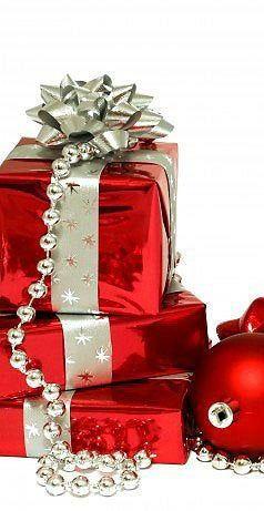 Envolturas navideñas color rojo