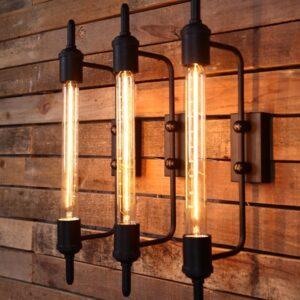 Diferentes diseños de lamparas para decoración industrial