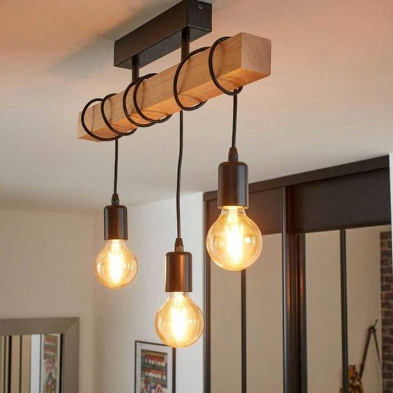 Lámparas para decoración industrial