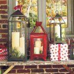 Ideas para decorar faroles navideños