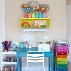 Colores para el área de trabajo infantil