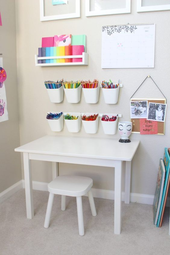 Ideas para escritorios infantiles de niños