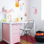 Como decorar área de trabajo infantil para niñas