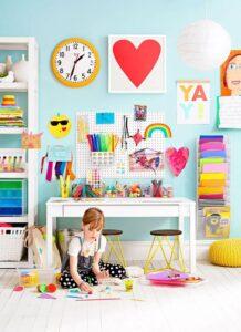 Accesorios para decorar escritorios infantiles